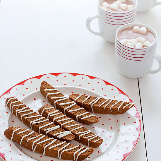 Winter Morning Munchie: Gingerbread Biscotti