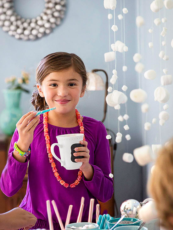 Girl in purple and hanging snowfall craft-1384463457369.xml