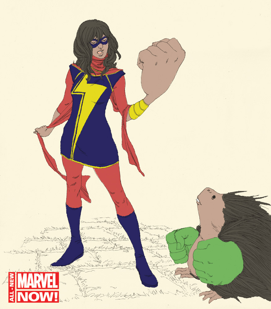 Ms. Marvel: A New Female Teen Superhero (Who Also Happens to Be Muslim)