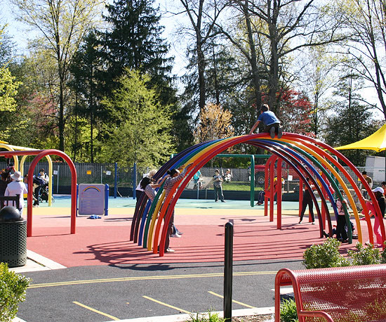 Clemyjontri Playground in McLean, VA