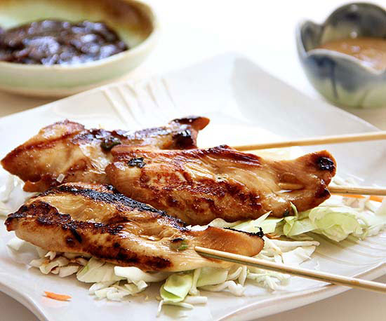 Chicken Satay Dippers