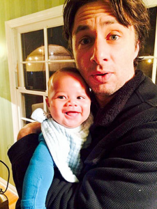 Guess Who Zach Braff's the Godfather of? 26586