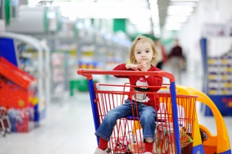 Shopping Carts Injure Dozens of Kids Daily, Study Finds