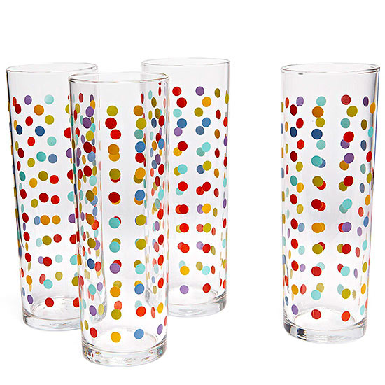 Fishs Eddy Polka Dot Glasses