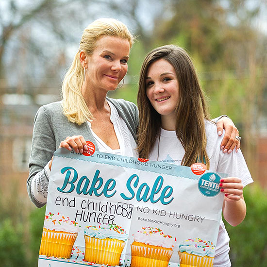 Mother-Daughter Bake Sale No Kid Hungry