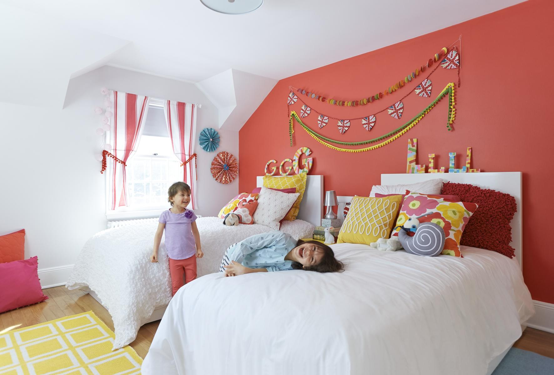 9 Inexpensive Ways to Add Color to Kids' Bedrooms