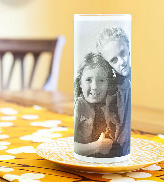 Photo Candle Holder