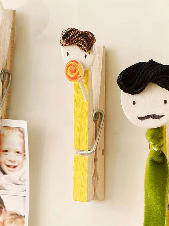 Clothespin Family: Lollipop