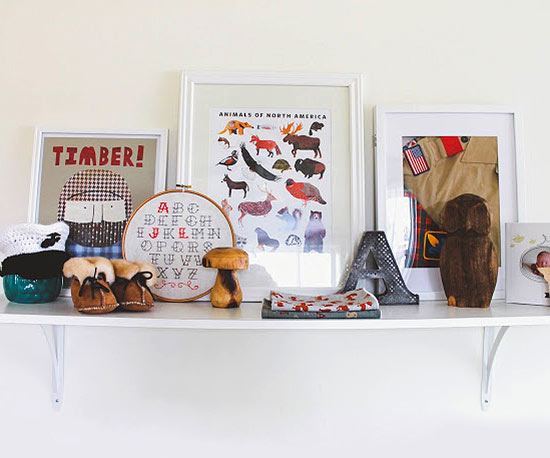 Lumberjack themed décor