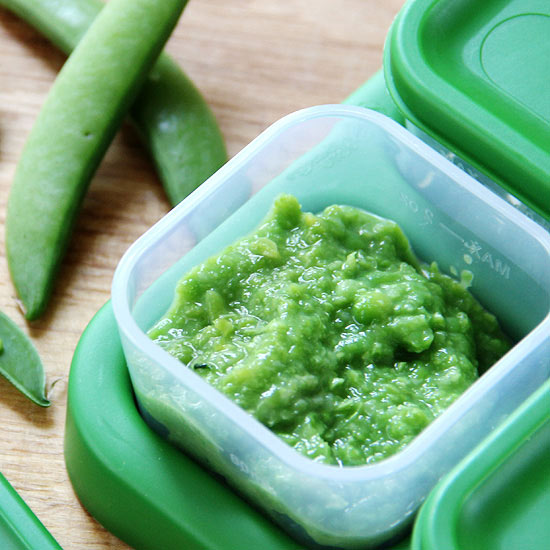 Freeze Leftover Peas