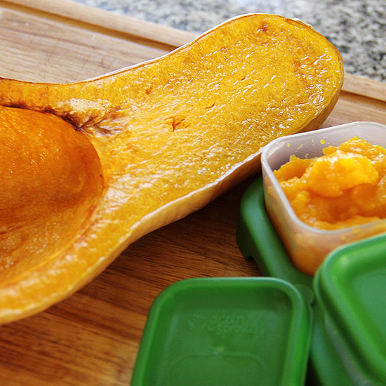 freeze leftover butternut squash puree