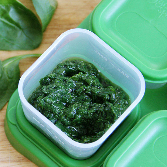 Freeze Leftover Spinach