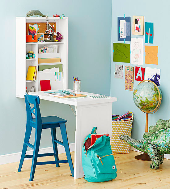 25 Kids Study Room Designs Decorating Ideas: Decorating Ideas For Kids' Rooms