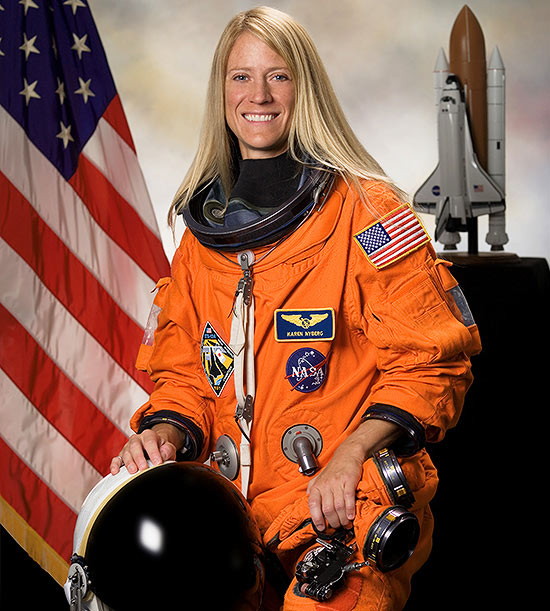 How NASA Astronaut Karen Nyberg Parents From Outer Space