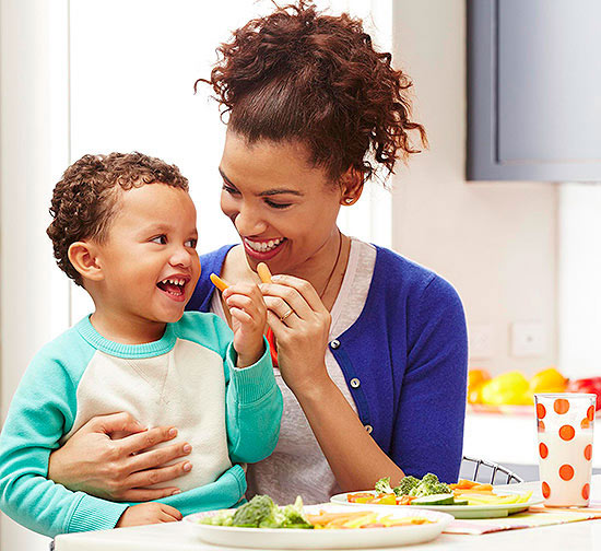 Kids' Food Portions Mirror Their Parents' Portions