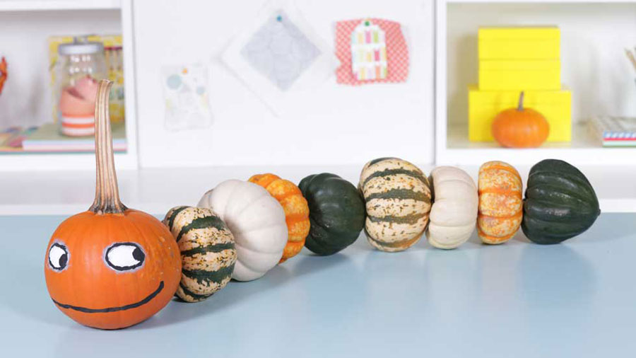 Make Kooky Pumpkin Creatures