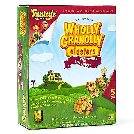 Funley's Delicious Wholly Granolly Clusters Wild Apple Berry