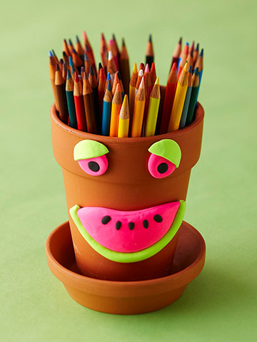 Watermelon-Smile Pencil Pot