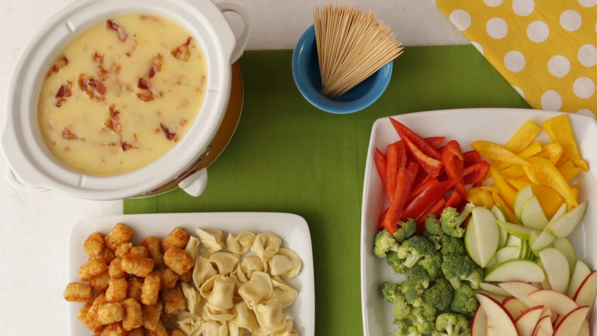 How to Make Bacon & Cheese Fondue