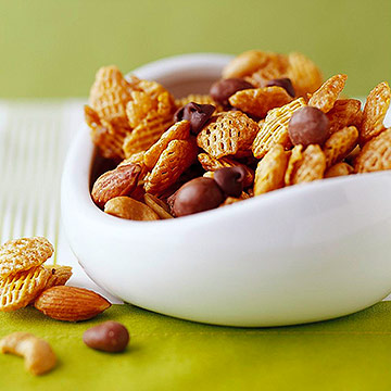 Caramel-Coated Snack Mix