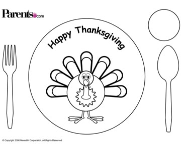 graphic regarding Thanksgiving Placemats Printable named Absolutely free Thanksgiving Placecards, Stickers Added for Young children