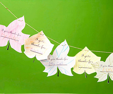Leaves of Thanks Garland