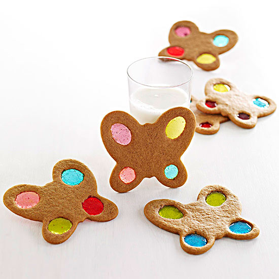 Molasses Butterfly Cookies