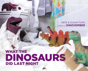 Here's How Two Parents Created #Dinovember...to Prank Their Kids 25491