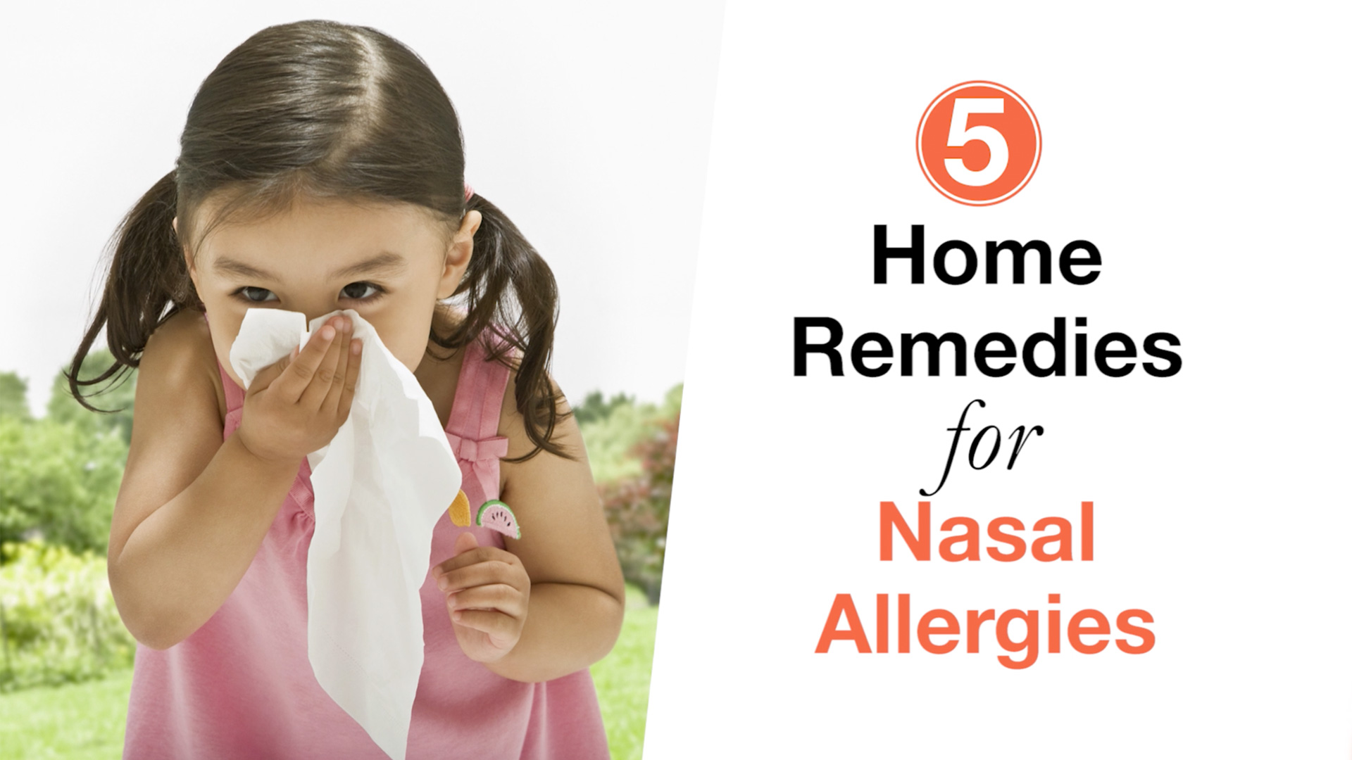 8 Home Remedies for Nasal Allergies