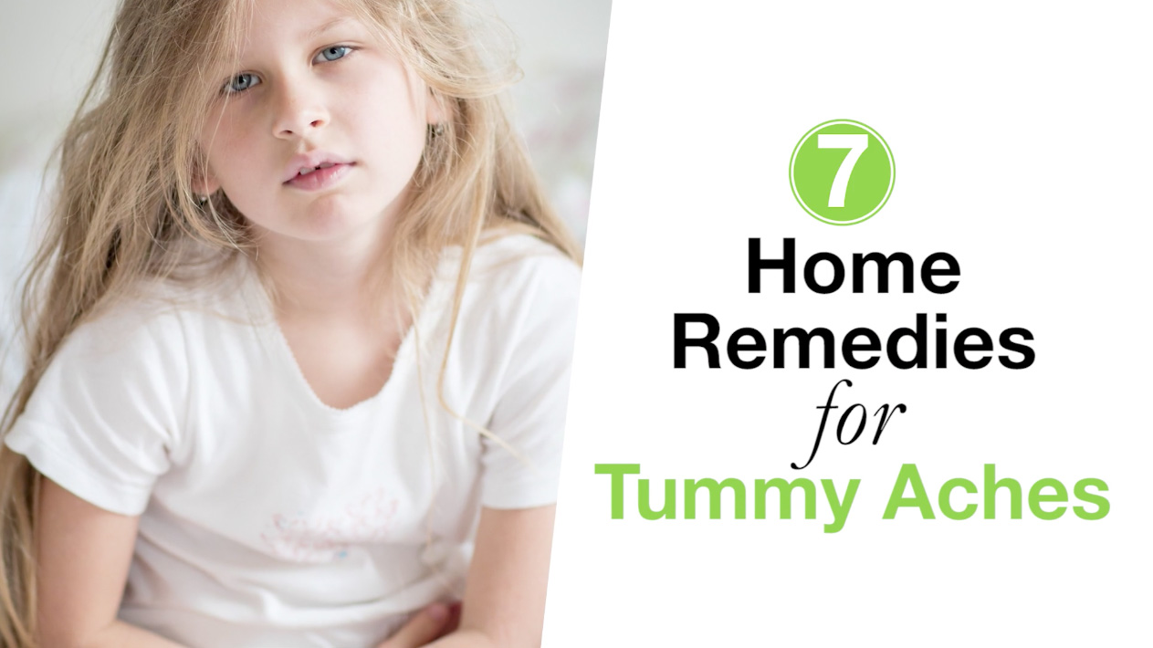 7 Home Remedies for Tummy Aches