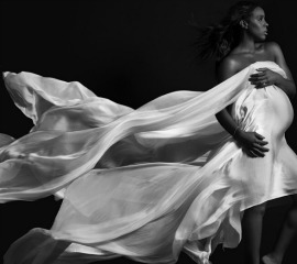 Pregnant (and Gorgeous!) Kelly Rowland Poses Nude for 'Elle' 26821
