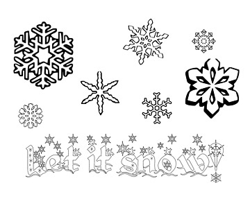 Let it Snow! Coloring Pages
