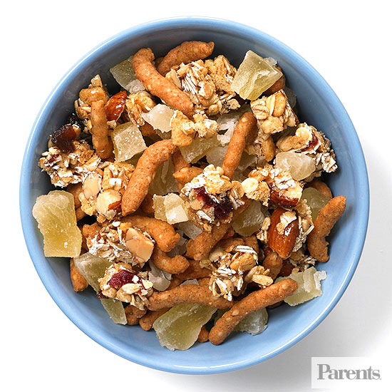 After-School Snack Mixes: Sesame Sticks