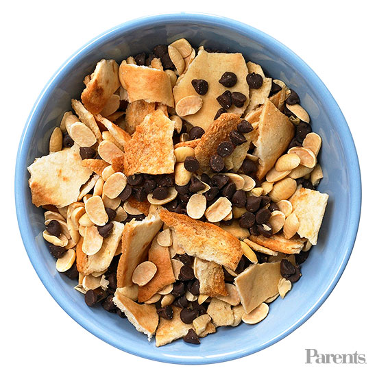 After-School Snack Mixes: Pita Chips