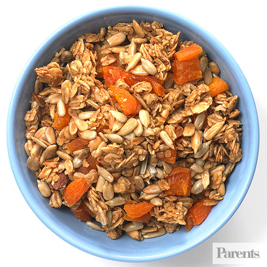 After-School Snack Mixes: Low-Fat Granola