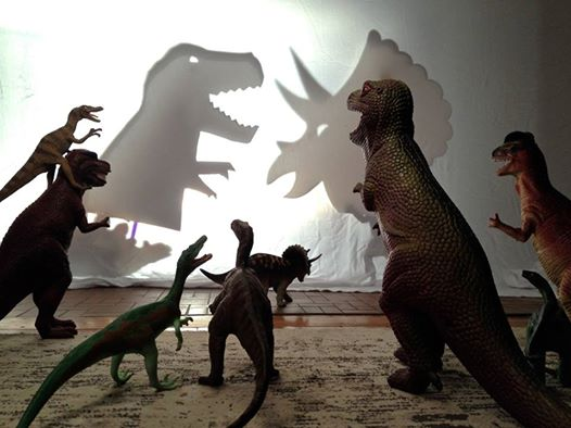 Here's How Two Parents Created #Dinovember...to Prank Their Kids 25493