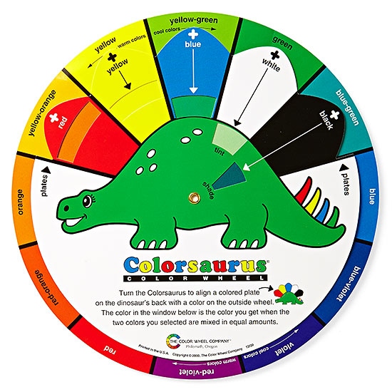 Kids color wheel