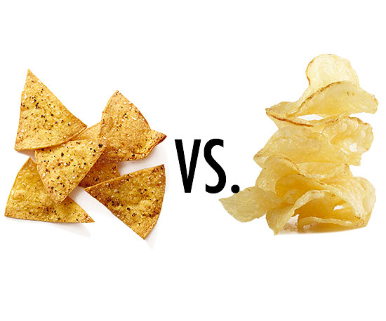 Tortilla Chips vs. Potato Chips