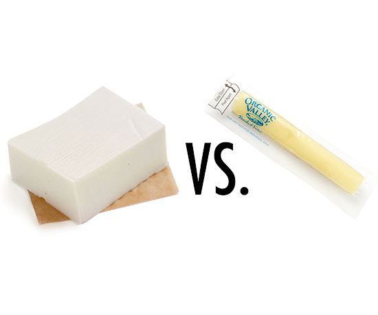 Tofu vs. Cheese sticks