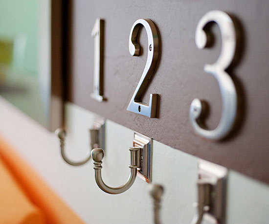 numbered hooks