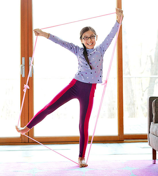 Stretchy Band Exercises for Kids