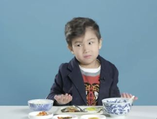 Kids react to breakfast foods