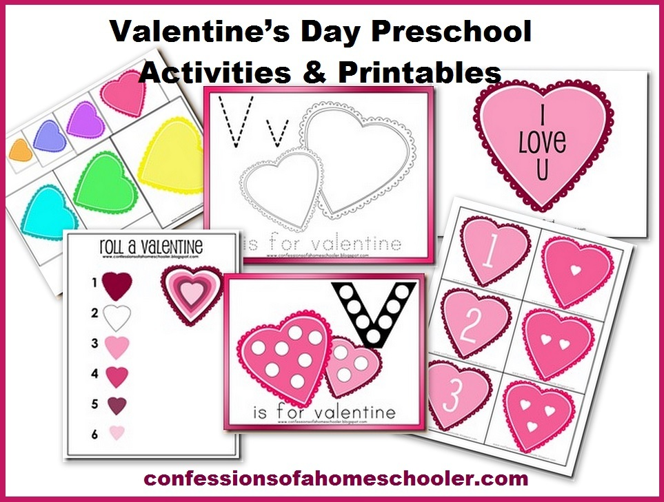 photo regarding Valentines Printable Activities identify Cost-free Valentines Working day Preschool Packets and Printables Mom and dad