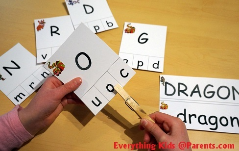 Clothes Pin Letter Activity