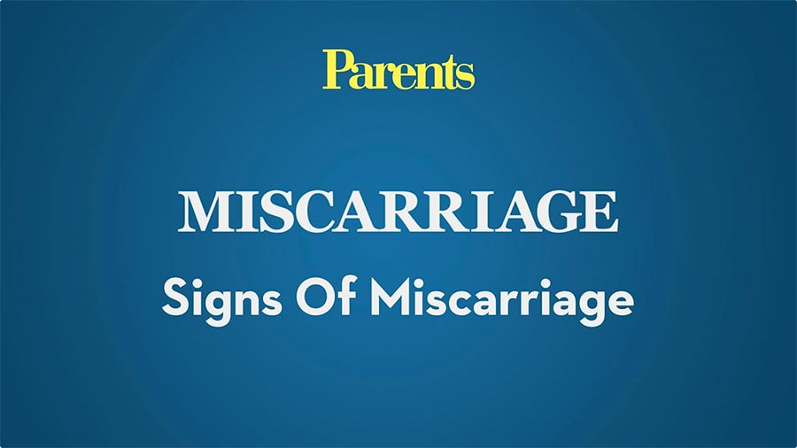 Signs of Miscarriage