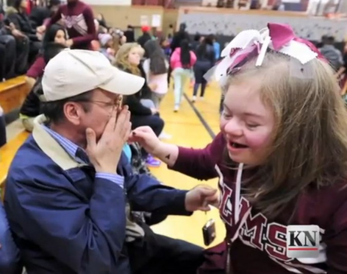Kids Defend Bullied Cheerleader With Down Syndrome