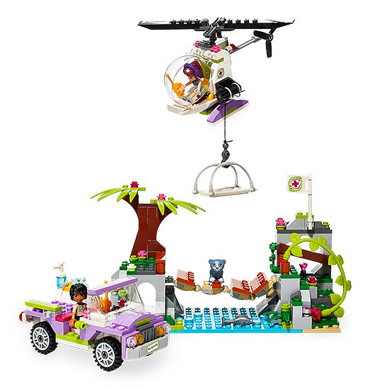 Lego friends bridge rescue