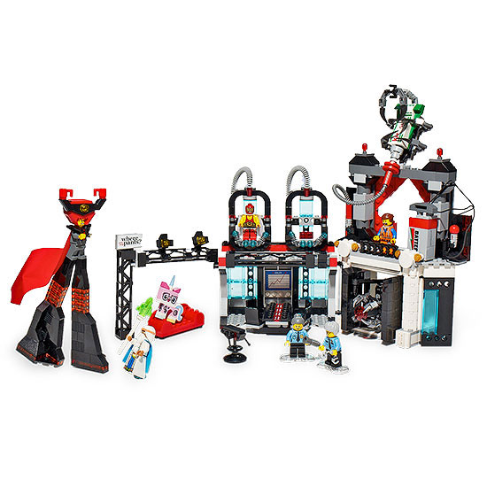Lego movie evil lair