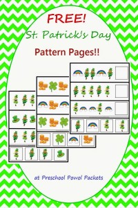 free-st-patricks-day-pattern-pages-label-preschoolpowolpackets 36168