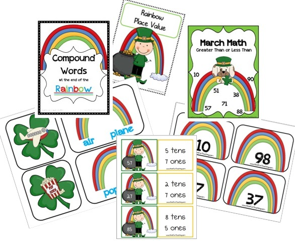 St Patricks Day Printable Activities - Have Fun Teaching